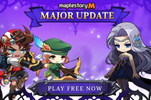Two New Classes come to MapleStory M as part of a major update