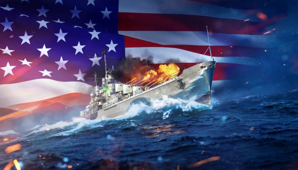 World of Warships Legends reaches over 1 million players in a month