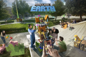 Minecraft Earth is a free-to-play augmented reality mobile game