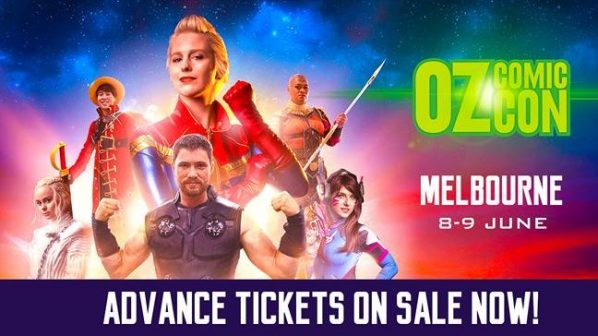 Oz Comic-Con is coming back to Melbourne in June