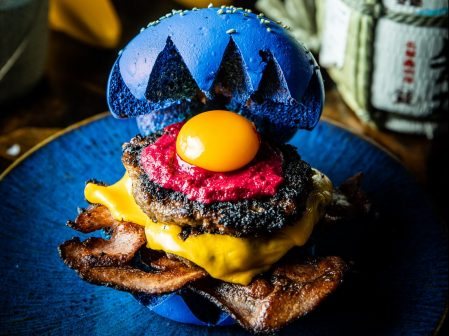 Head to Chapel Street to eat a Sonic the Hedgehog Burger