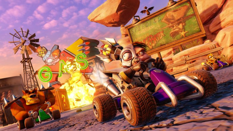 How to get a Boost-Start in Crash Team Racing Nitro Fueled