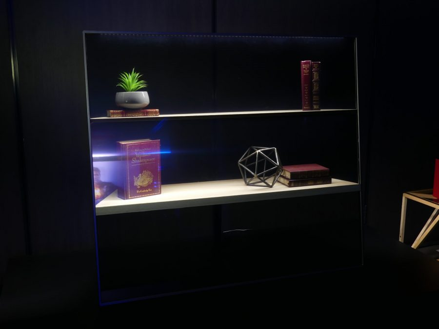 Panasonic Previews Transparent OLED TV