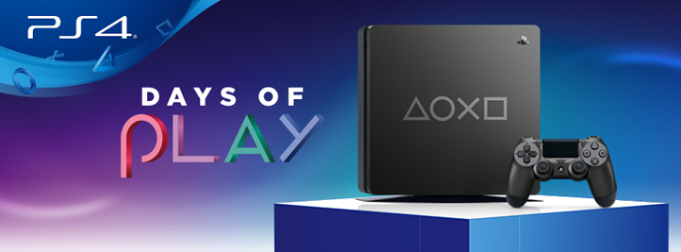 PlayStation Days of Play kicks off tomorrow; limited-edition PS4 coming too