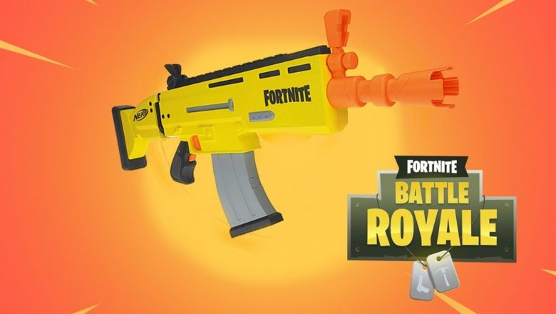 Fortnite x NERF brings the Battle Royale to real life