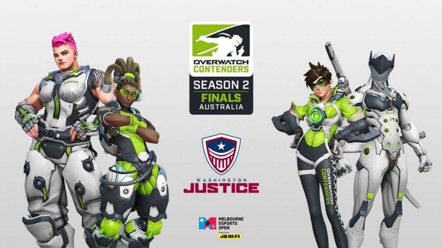 Washington Justice will be at Melbourne Esports Open tomorrow