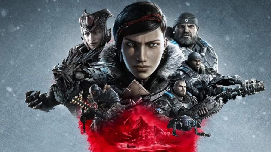 Gears 5 download size is 57GB