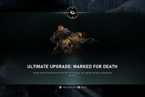 How to unlock Jack's Marked For Death Ultimate Upgrade in Gears 5