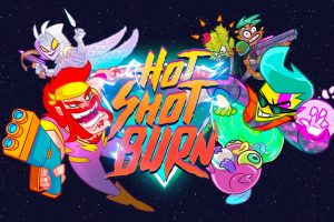 Hot Shot Burn is a party brawler now in early access on PC, coming to consoles in 2020