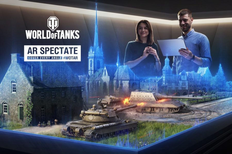 Wargaming's AR Spectate Technology recreates the Battles of Kursk and Normandy