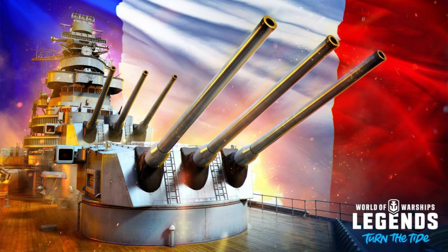 The French Navy makes its World of Warships: Legends debut in latest update