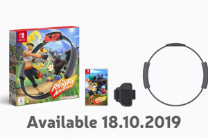 Nintendo's new Switch experience is called Ring Fit Adventure and it comes with the 'Ring-Con'