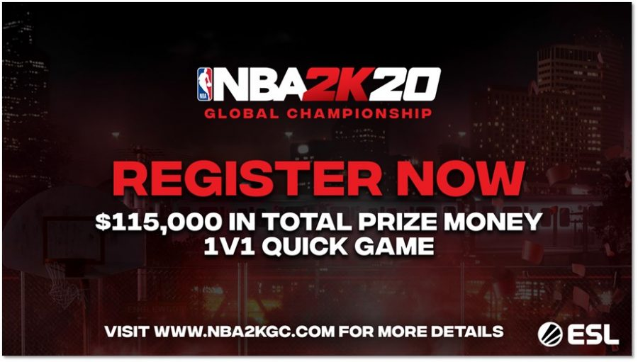 NBA 2K20 Global Championship with $100,000 prize money announced by 2K