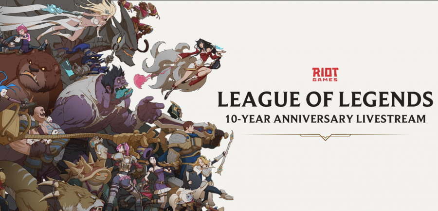 Celebrate 10 Years of League of Legends with Riot's online party stream