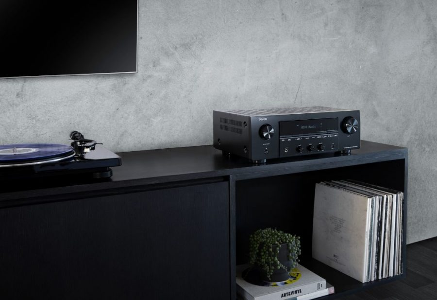 Denon's first stereo network receiver, DRA-800H, available now