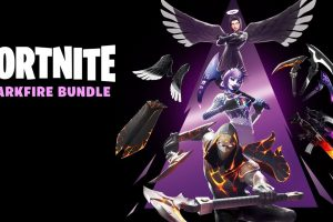 Warner Bros and Epic have launched the Fortnite Darkfire Bundle at retail in Australia