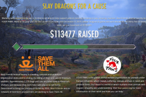 ESO Charity Drive to save pets continues this month with two new in-game events