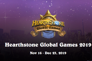 Get ready for the Hearthstone Global Games 2019