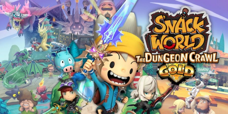 Snack World: The Dungeon Crawl – Gold is coming to Switch in February