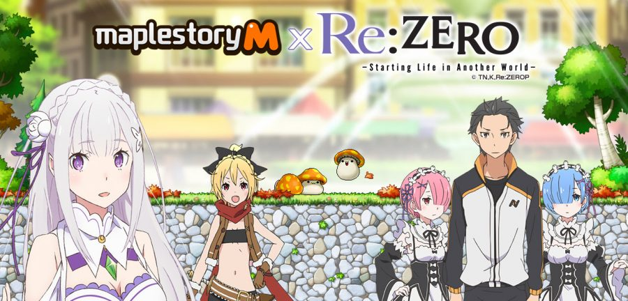 MapleStory M's first crossover event is with Re:ZERO