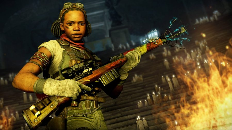 There are no female zombies in Zombie Army 4: Dead War