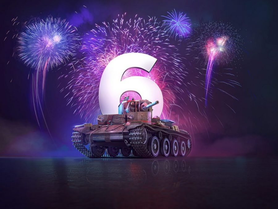 World of Tanks: Mercenaries celebrates six years and 20 million users with specials, giveaways and more